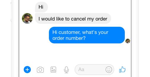 customer cancel order inquiry